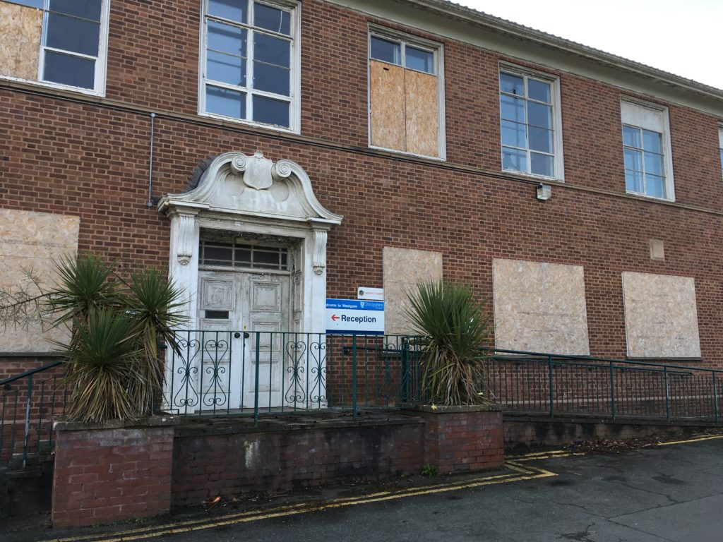 Bridgnorth's former council offices at Westgate