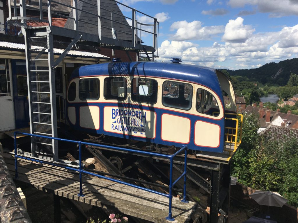 Bridgnorth Cliff Railway carriage